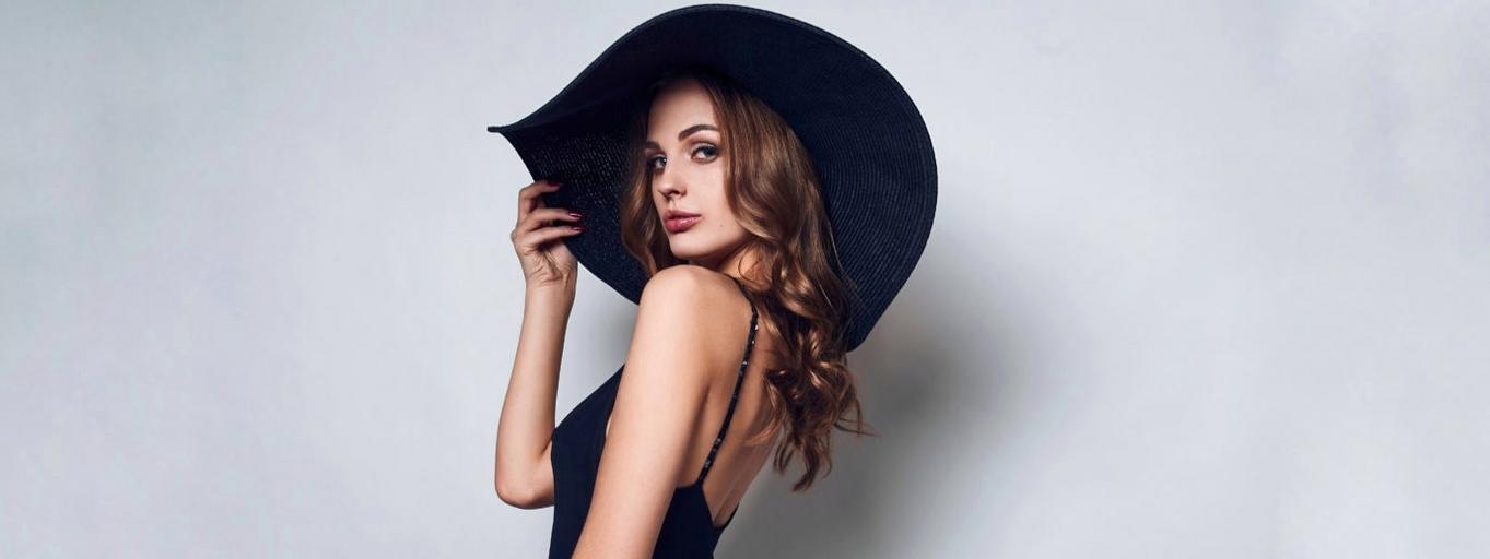 kobieta kapelus seks