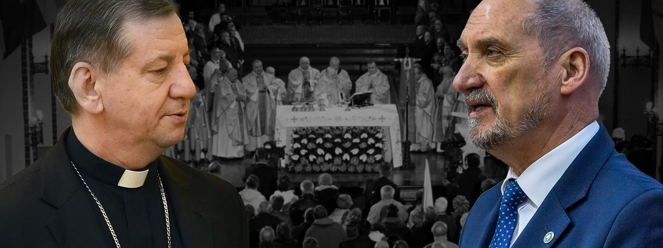Biskup odmówił Macierewiczowi smoleńskich mszy
