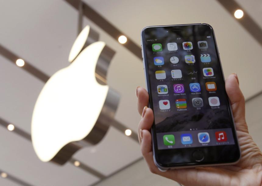 iPhone 6 Plus w Apple Store w Tokio