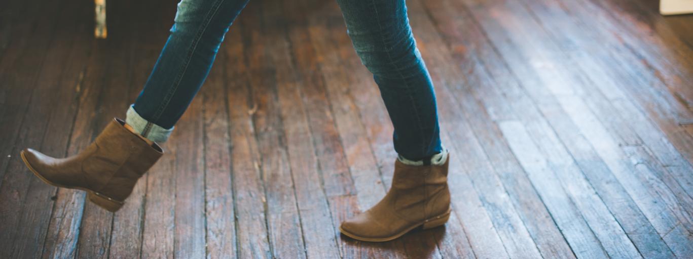 buty, kobieta
