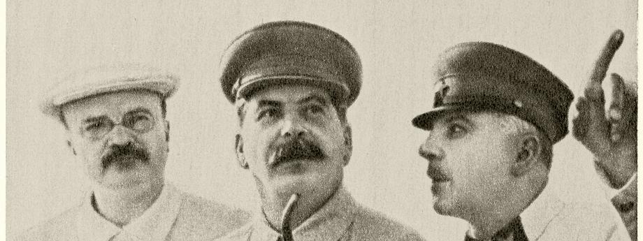 Stalin, Molotow, Woroschilow / Foto 1937..
