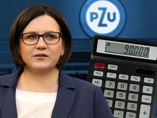 Sadurska plus. Zobacz Ile musisz pracować by zarobić tyle, co była polityk PiS w PZU?