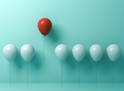 balon wyróżnić się szereg inność