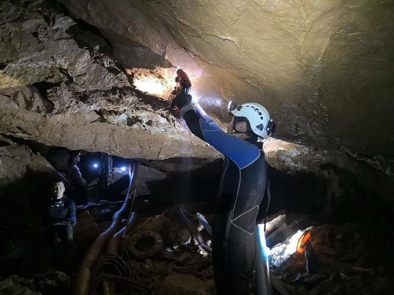 Tajlandia – uwięzieni chłopcy w jaskini