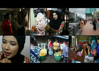 Blogerka w hidżabie