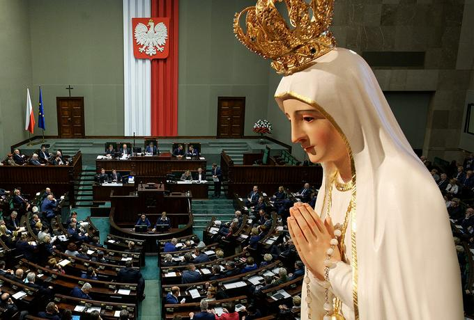 Zniknęły ostatnie pozory rozdziału Kościoła i państwa