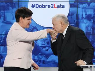 Kaczyński chwali i dziękuje Szydło: Nie zawiodła [PODSUMOWANIE 2 LAT RZĄDÓW]