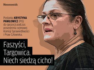 """""""Faszyści, targowica, niech siedzą cicho"""" i inne cytaty tygodnia"""