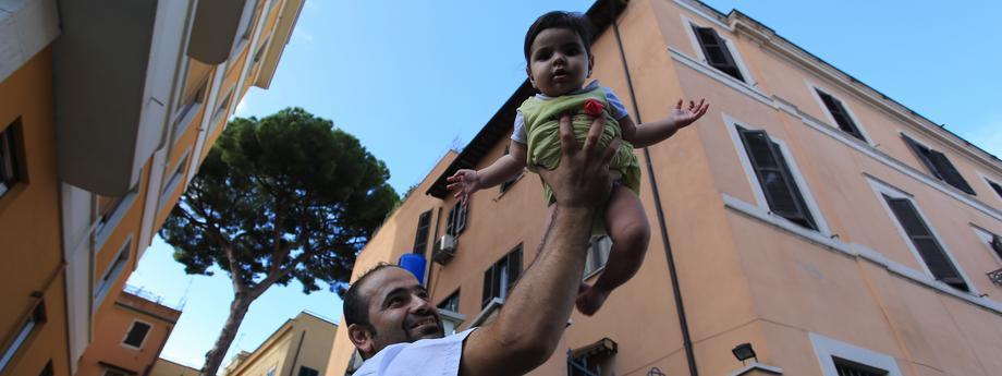 uchodźcy we Włoszech