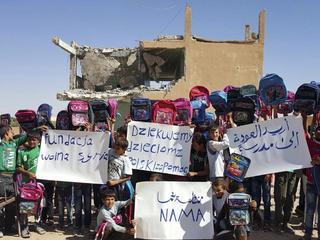 """Kurdyjskie władze zamknęły """"polską szkołę"""" w Syrii"""