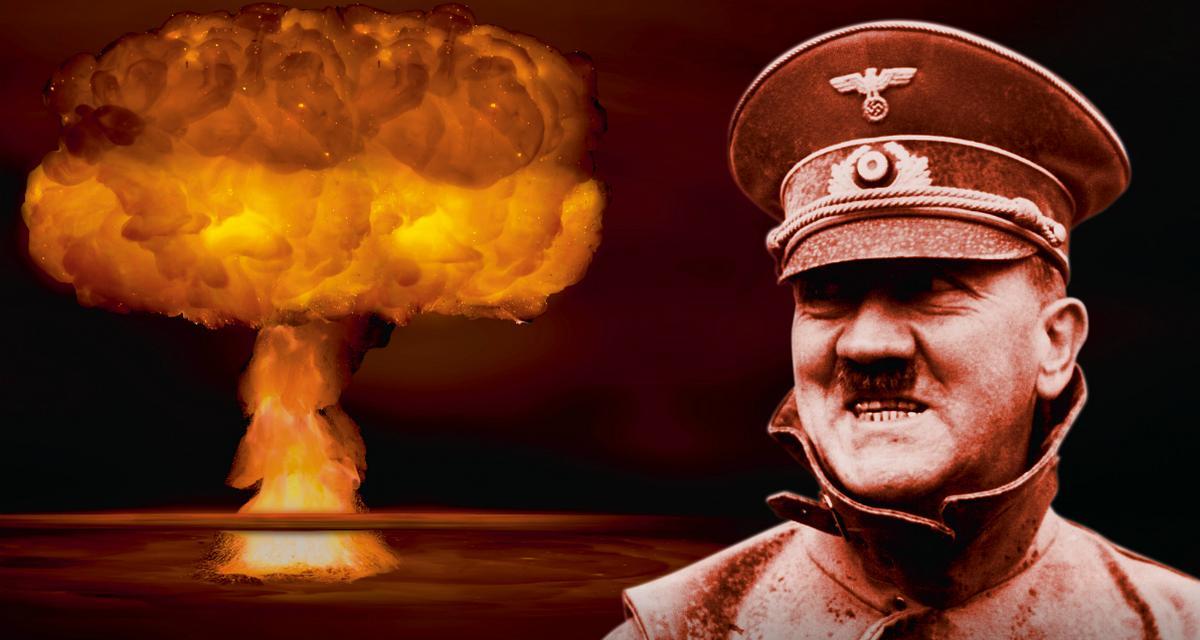 Hitler i bomba