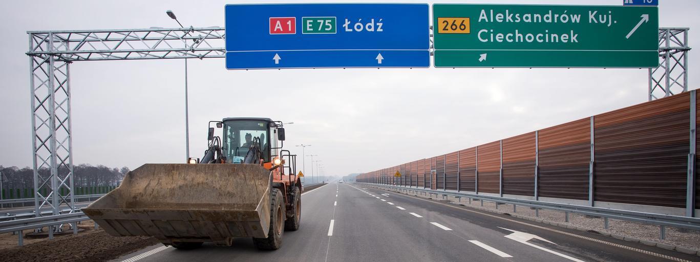 Nowy odcinek autostrady