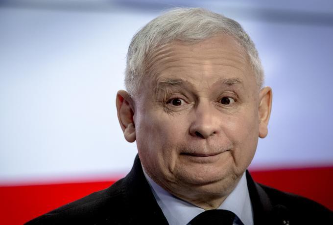 Sondażowe spadki partii Kaczyńskiego