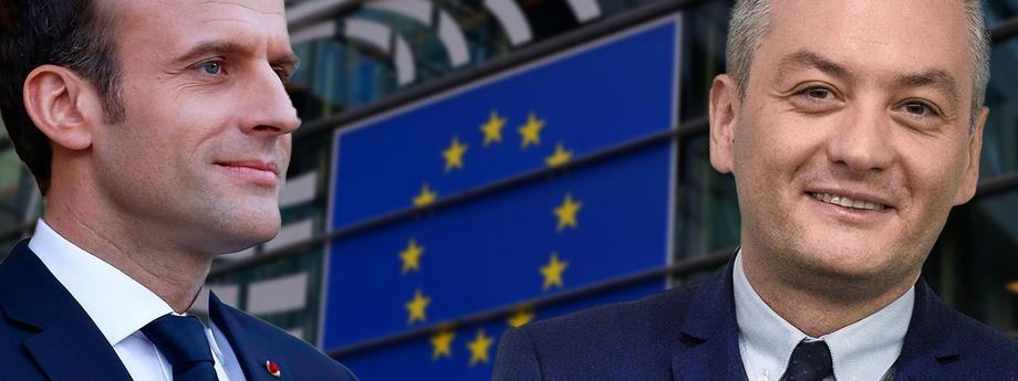 Emmanuel Macron Robert Biedroń