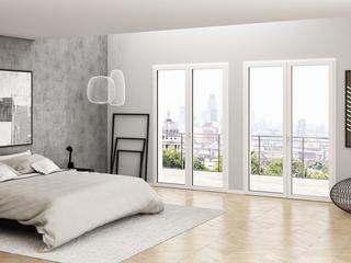 Designerskie okno bez zaokrągleń? OKNOPLAST oferuje stolarkę, która wyjątkowo uzupełni wystrój wnętrza i dodatkowo je doświetli