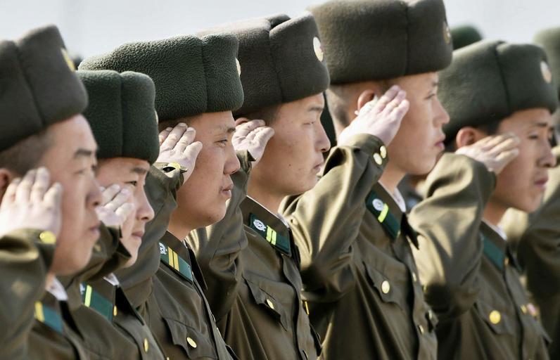Korea Północna Żołnierze