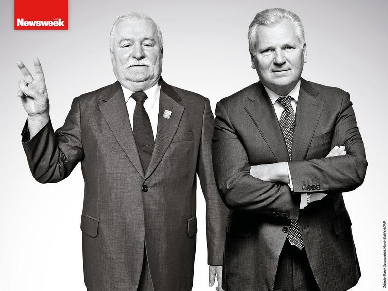 Lech Wałęsa, Aleksander Kwaśniewski