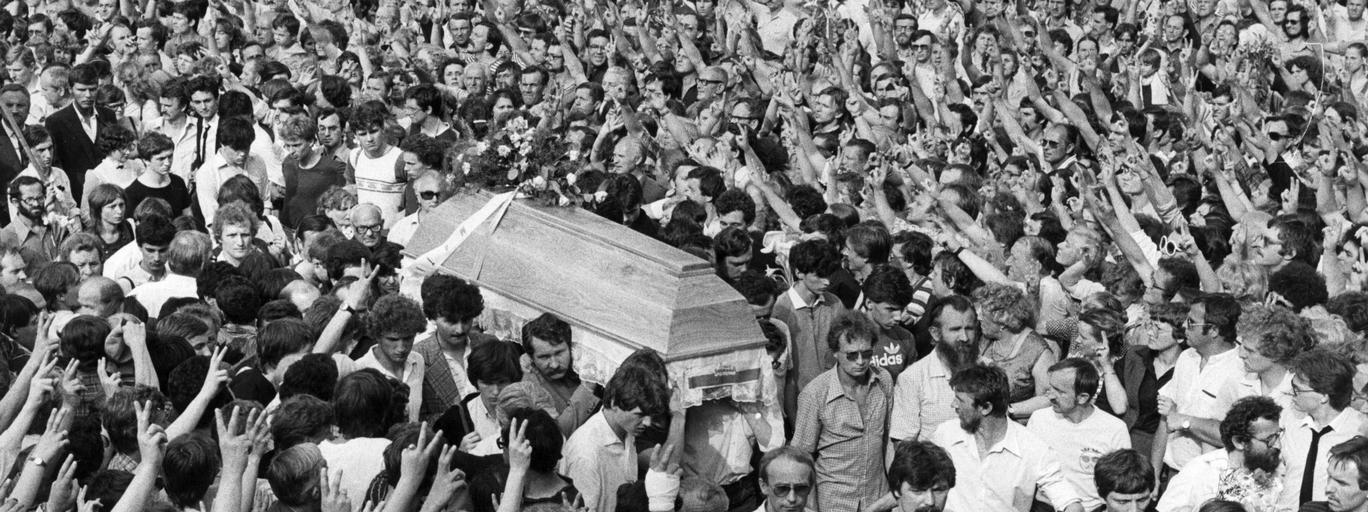 Pogrzeb Grzegorza Przemyka
