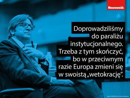 Guy Verhofstadt, Newsweek Polska