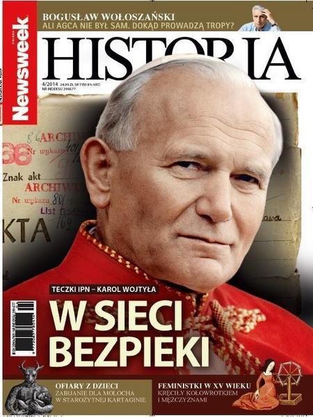 Newsweek Historia 04/2014 okładka