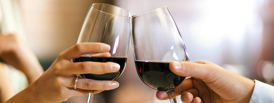 wino kieliszki
