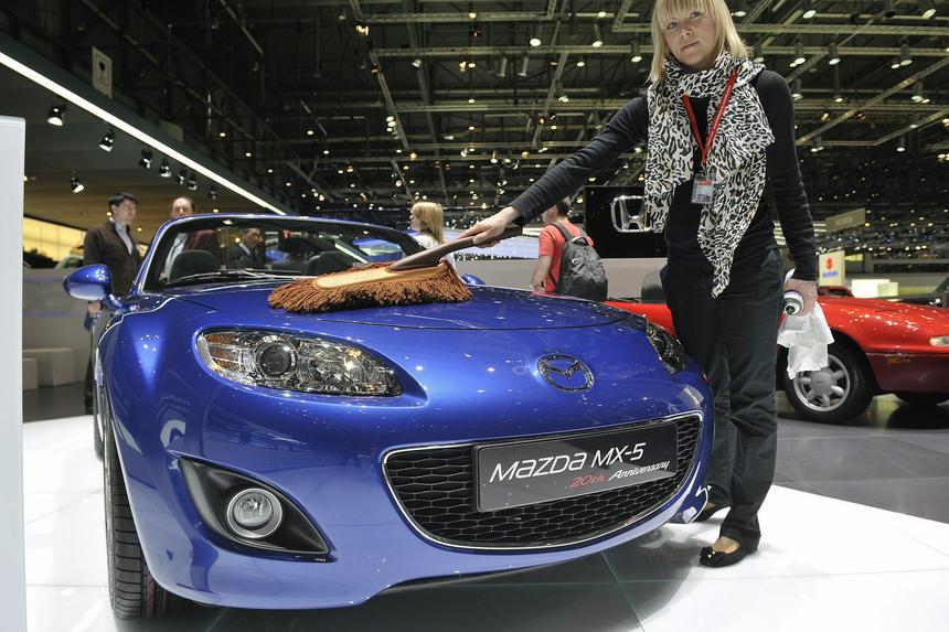 Mazda MX-5 na 80. Międzynarodowym Salonie Motoryzacyjnym w Genewie