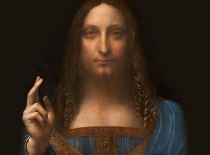 Leonardo da Vinci Zbawiciel świata