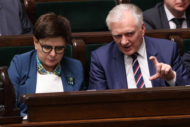 Beata Szydło Jarosław Gowin