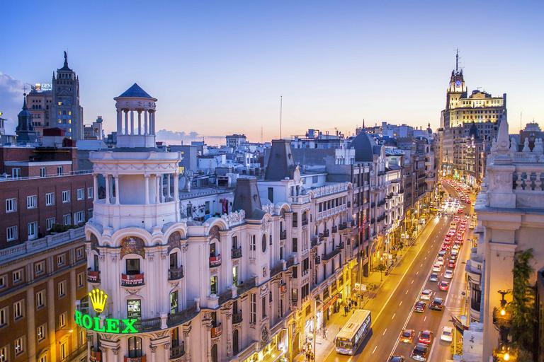 Madryt Hiszpania podróże turystyka