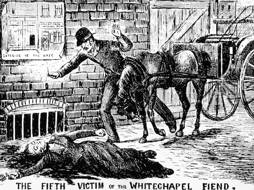 Kuba Rozpruwacz siał postrach na ulicach Londynu w końcówce XIX wieku (fot. PAP/UPPA/Photoshot)