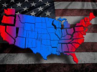 Nowa wojna secesyjna? Ameryka nie była tak podzielona od 150 lat