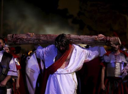 droga krzyżowa, ukrzyżowanie, Jezus, Wielki Tydzień