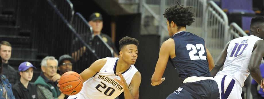 NCAA Basketball 2016: Yale vs Washington NOV 13