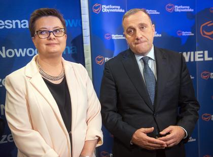 Grzegorz Schetyna Katarzyna Lubnauer
