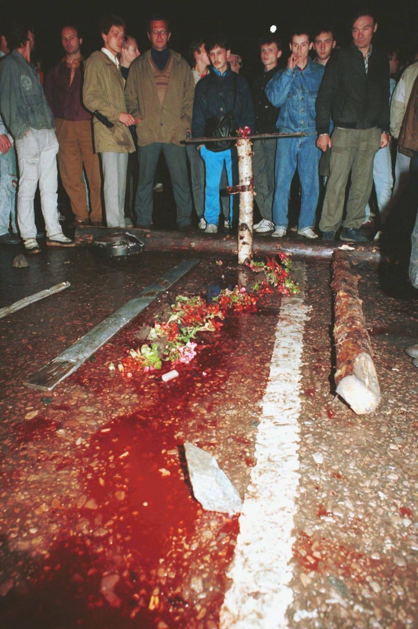 20 sierpnia 1991 r. Krwawe starcia w okolicy ulicy Arbat w Moskwie.