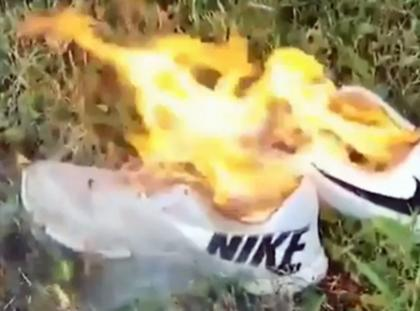 Płonące Nike