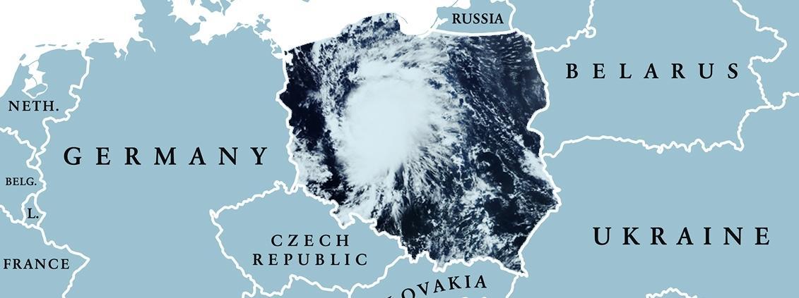 Huragan Irma nad Polską