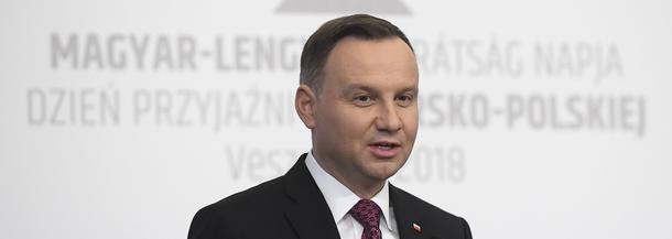 Andrzej Duda na Węgrzech