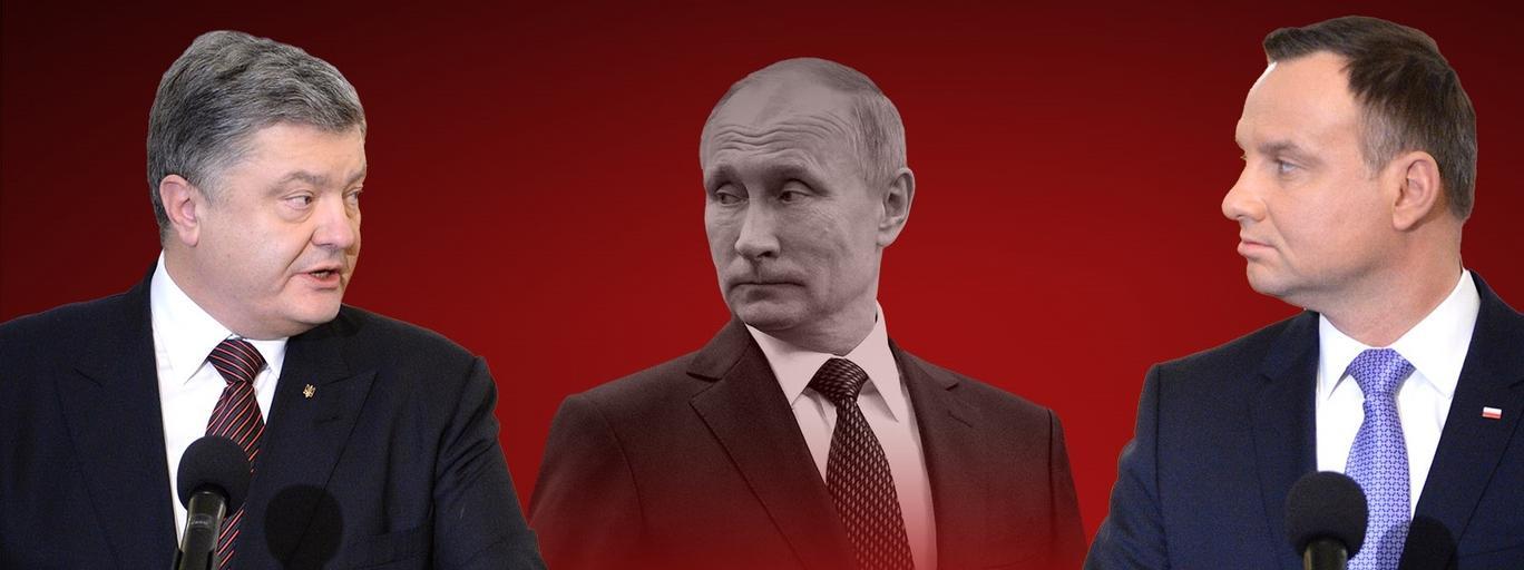 Polska Ukraina Duda Poroszenko Putin Moskwa Kreml MSZ