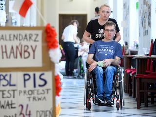 Niepełnosprawny do Morawieckiego: Niech Pan nie kłamie!