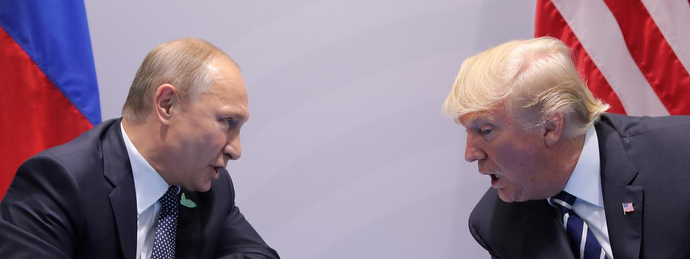 Władimir Putin Donald Trump