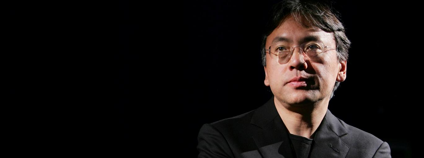 FILE PHOTO: Author Kazuo Ishiguro photographed during an interview with Reuters in New York