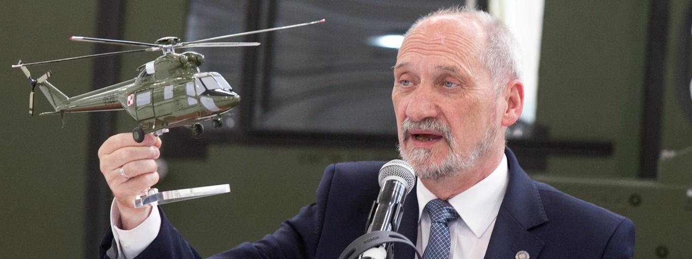 Antoni Macierewicz w PZL-Swidnik