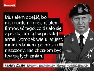 Niszczenie ludzi, rozbrajanie wojska, błędy Macierewicza. Prawda o polskiej armii