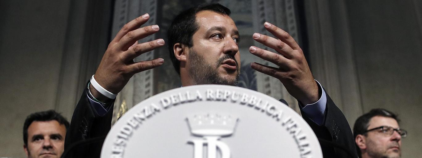 Matteo Salvini Liga Włochy