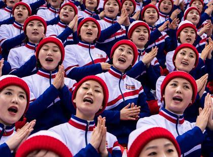 PyeongChang '18: North Korean Cheerleaders