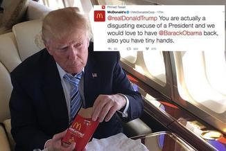 """Chcemy z powrotem Baracka Obamę"". McDonald's kpi z Donalda Trumpa"