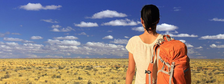 podróże, afryka, gambia, plecak