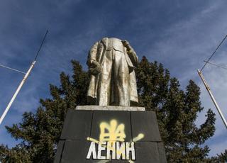 Lenin upadły