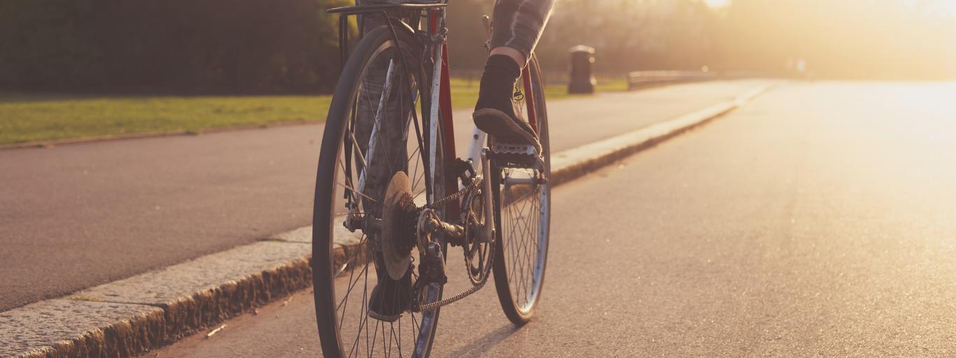 jazda na rowerze rower